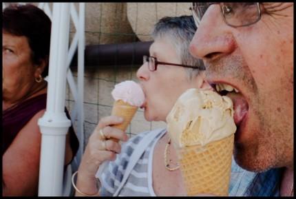 Des mangeurs de glace
