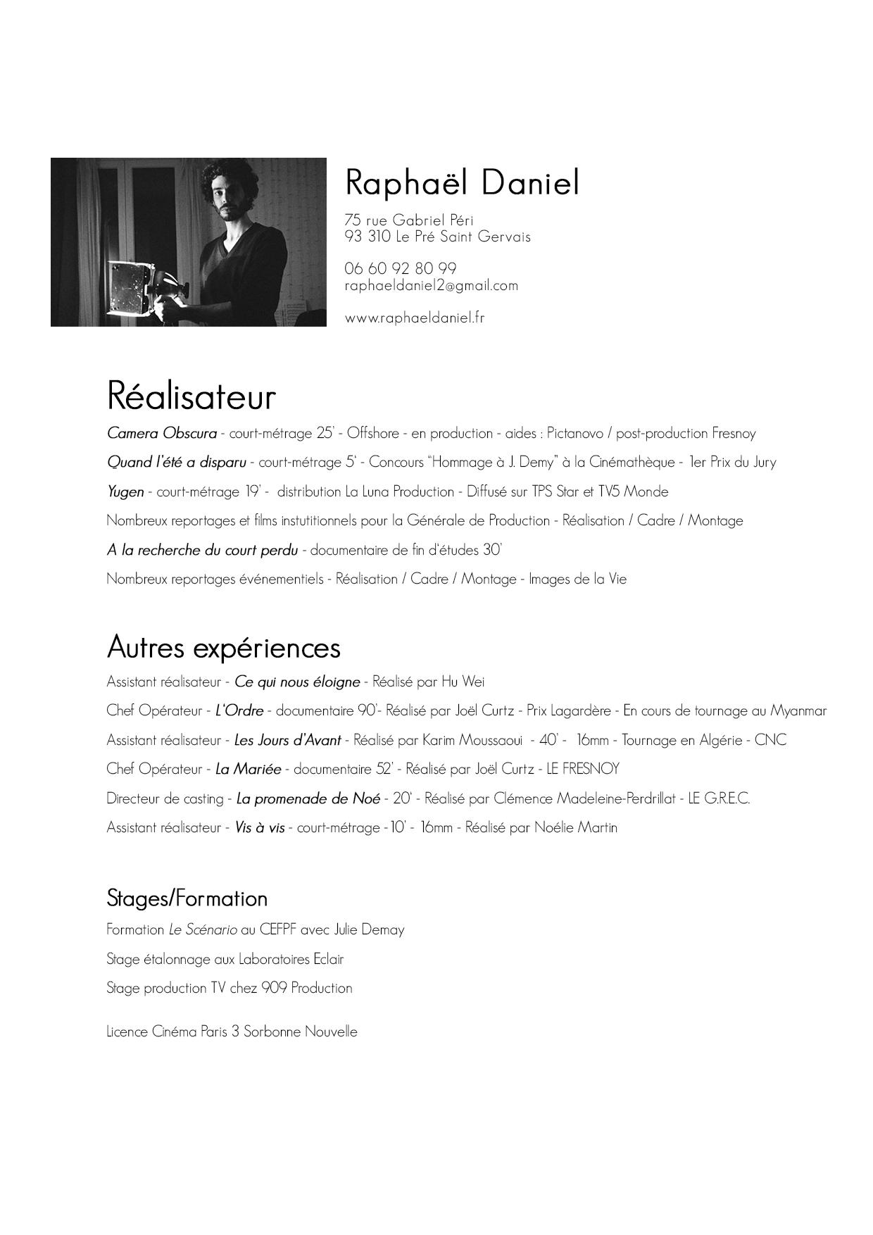 CV Raphael-ciné2017